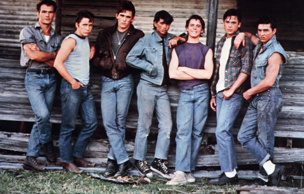 sodapop curtis in the achingly cool coming of age film the outsiders ...