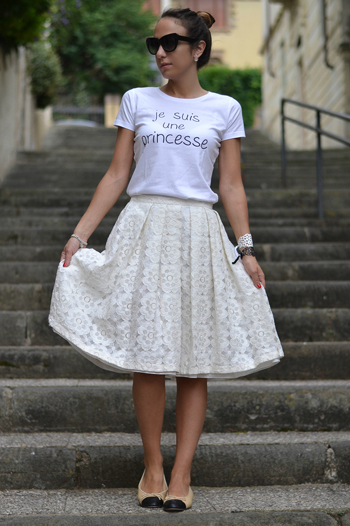 look con ballerine chanel