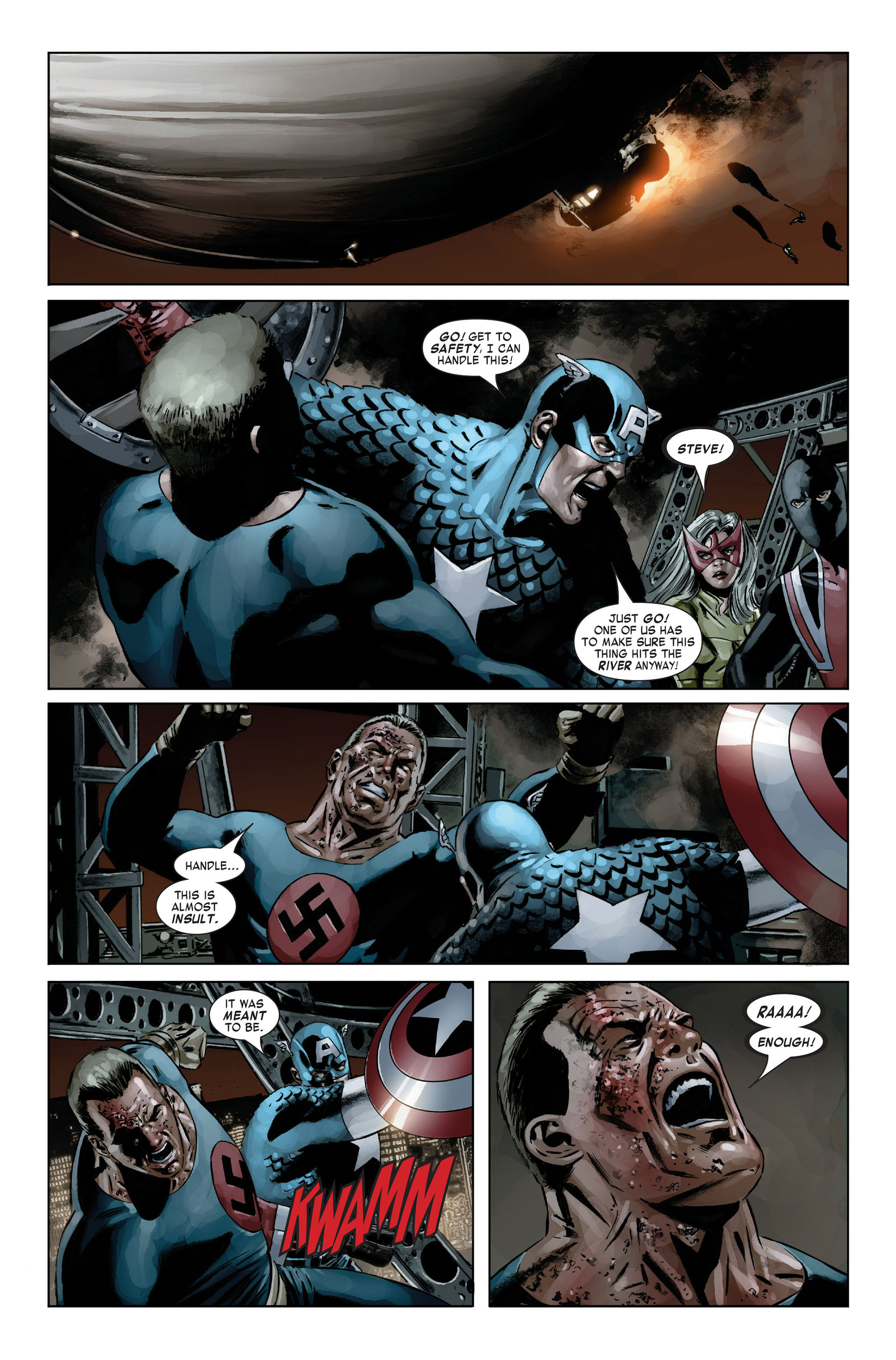 Captain America (2005) Issue #20 #20 - English 18