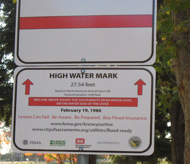 Garcia Bend Park High-water Mark