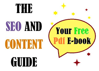 The SEO and Content Guide, Free Ebook Front