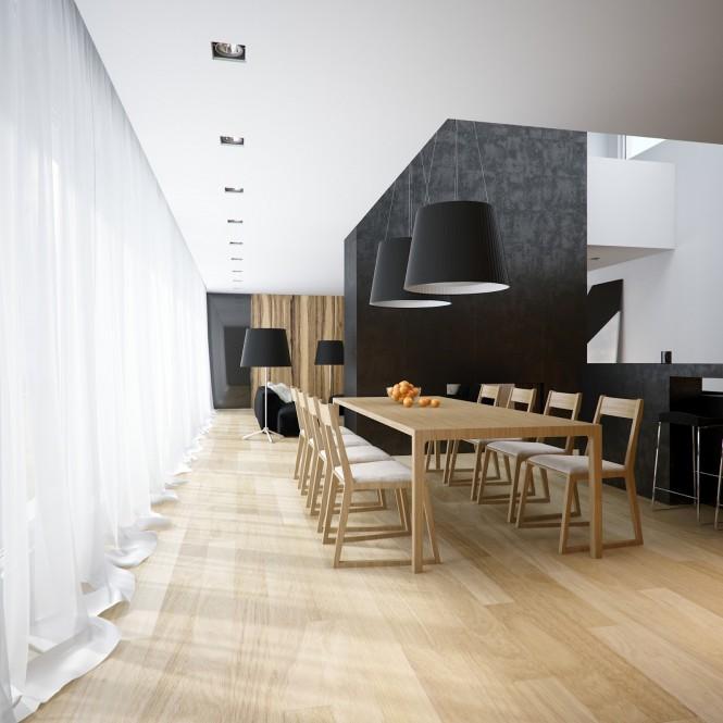 Black White Dining Room: Homedesign By Daniela Marques: Branco, Preto E ....madeira