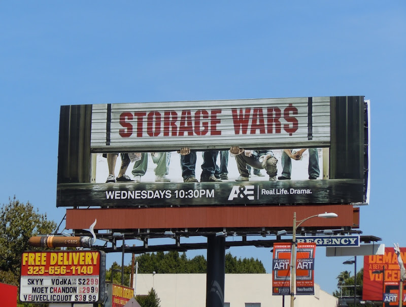 Storage Wars TV billboard