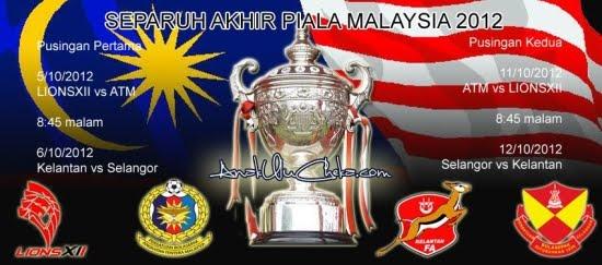 Separuh%2BAkhir%2BPiala%2BMalaysia%2B2012 Selangor vs Kelantan | Separuh Akhir Kedua | Piala Malaysia 2012