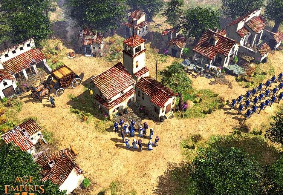 Age of Empires III - новая игра в знаменитой серии стратегий, заслужившей в