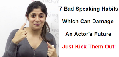 7 bad speaking habits