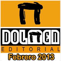 Dolmen Editorial: Novedades Febrero 2013
