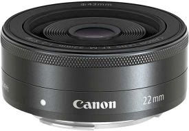 Lensa Kamera Canon EF-M 22mm f/2 STM