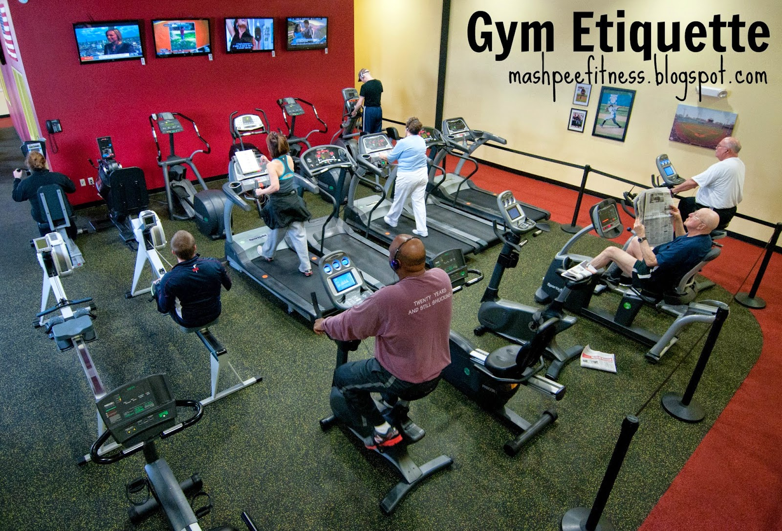 Gym etiquette survival tips for beginners