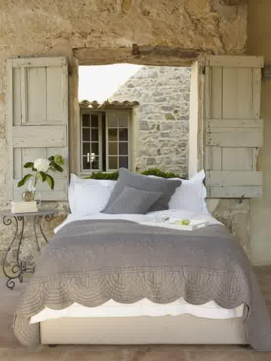 Romantic Provence Bedroom Decoration Ideas - Just Interior Design ... Schlafzimmer Einrichten Vintage