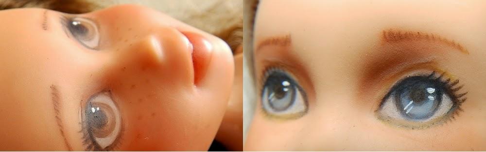 bratz remake, tree change doll like, překreslené a předělané panenky