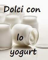 Dolci con lo yogurt
