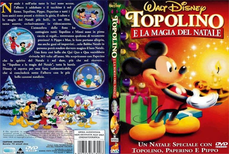 Disney animazione topolino e la magia del natale dvd