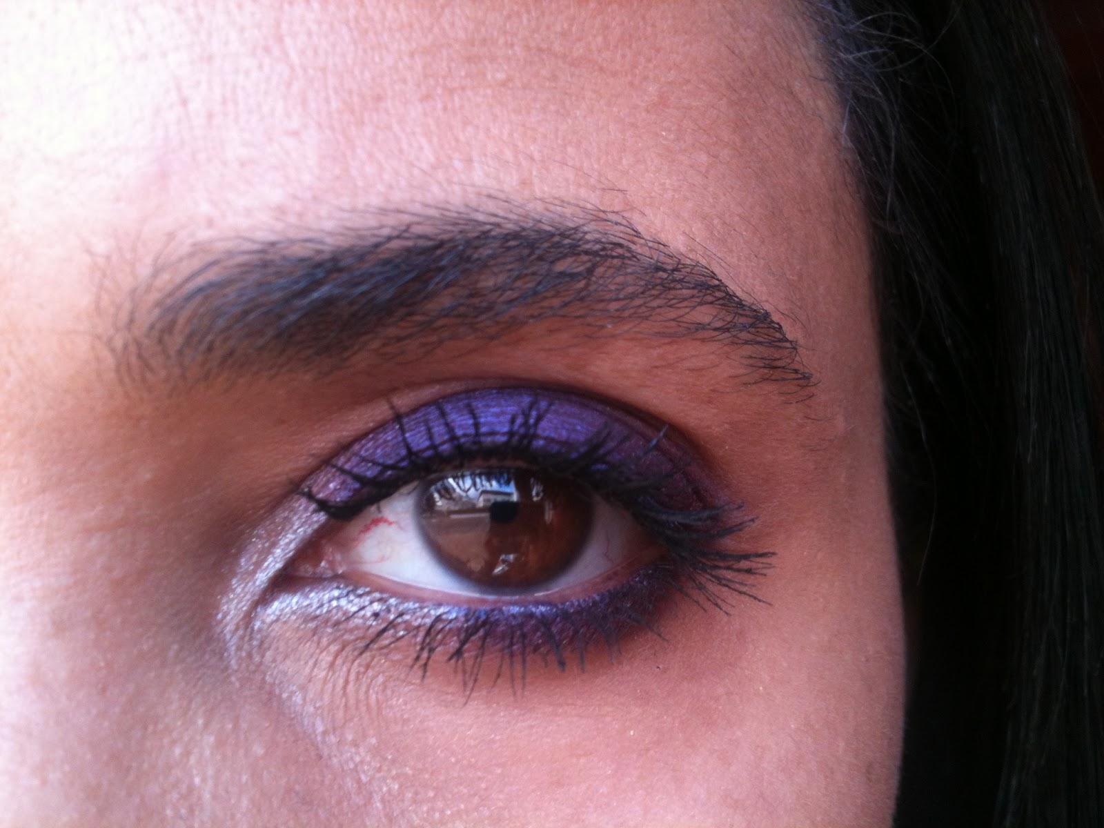 beaut blog by misskikaw make up 19 smoky eye violet mauve pour dire bonjour au printemps. Black Bedroom Furniture Sets. Home Design Ideas