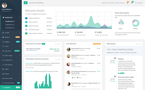22 free download inspinia responsive admin bootstrap theme v2 0