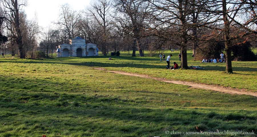 Queen Caroline's Temple - Hyde Park