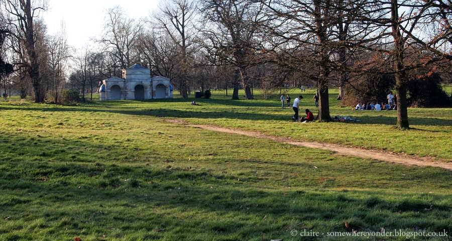 Queen Caroline's Temple - Hyde Park