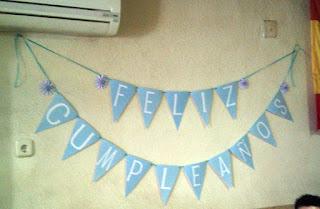 Banderines de cumpleaños