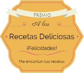 PREMIO RECETAS DELICIOSAS