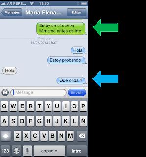 iMessage e SMS