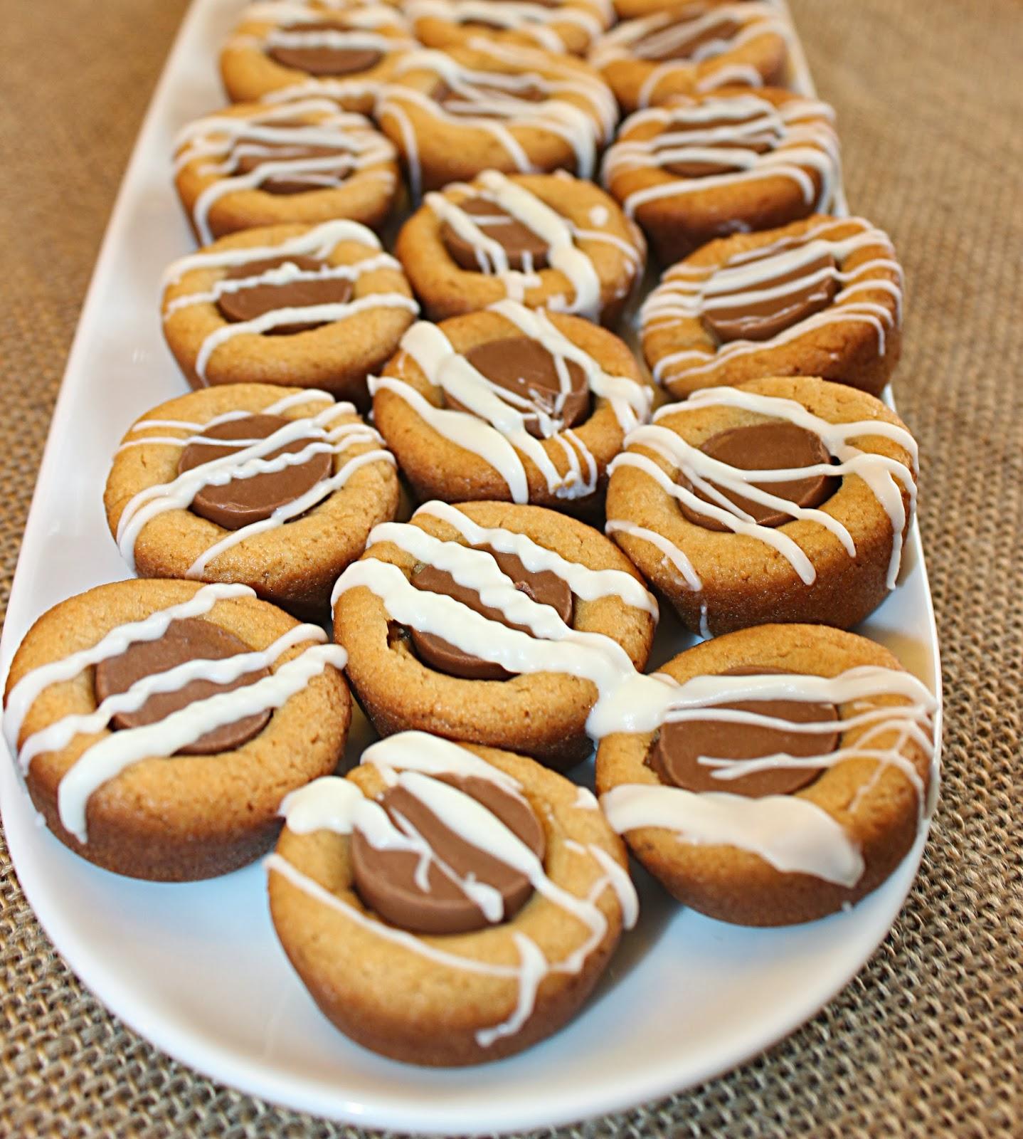 sugar & spice: Mini Peanut Butter Rolo Cookies