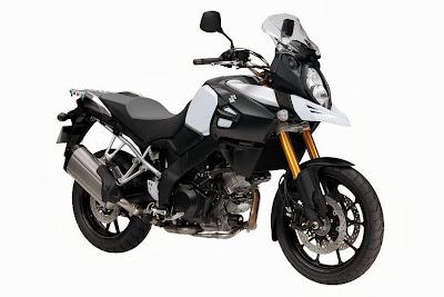 Suzuki V-Strom 1000 (2014) Front Side 1