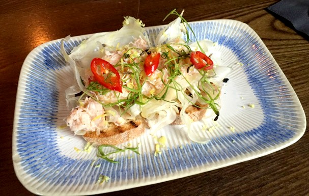 Jamie's Italian Nottingham Review | Morgan's Milieu: I love crab and the Fresh Crab Bruschetta was awesome.