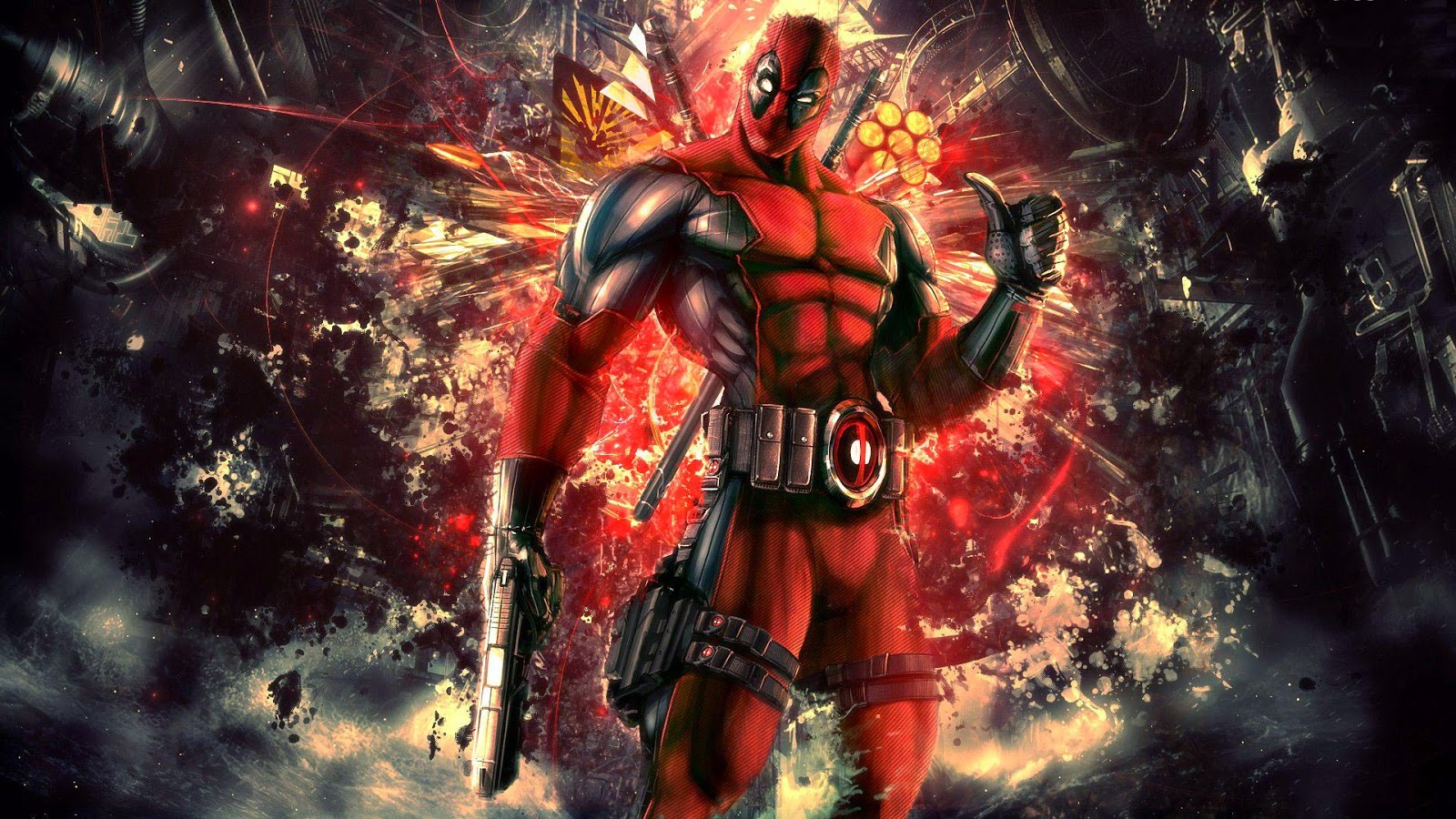 Papel de Parede Fantasia Deadpool Fantasy Deadpool wallpaper hd image free