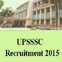 UPSSSC Vacancy 2015 - Junior Assistant