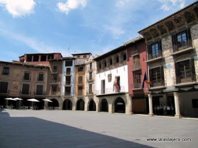 Plaza Mayor Graus, Huesca