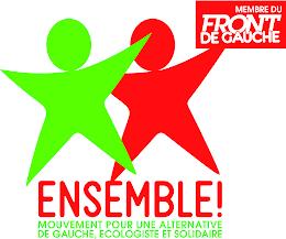 Rejoignez Ensemble, mouvement pour une alternative de gauche, écologiste et solidaire