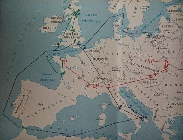 Szlak wojenny Alojzego Józekowskiego