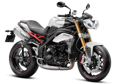 Triumph Speed Triple R (2012) Front Side