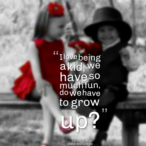 quotes from young kids about love..Kids have it all figured out. Check