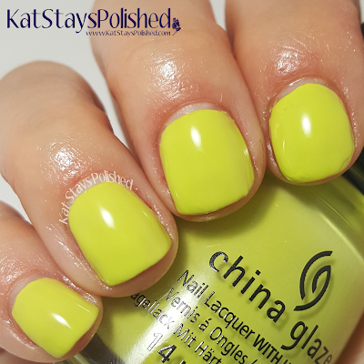 China Glaze - The Great Outdoors - S'More Fun | Kat Stays Polished