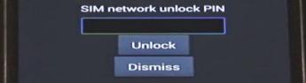 SIM PIN PUK Error Samsung Galaxy S5