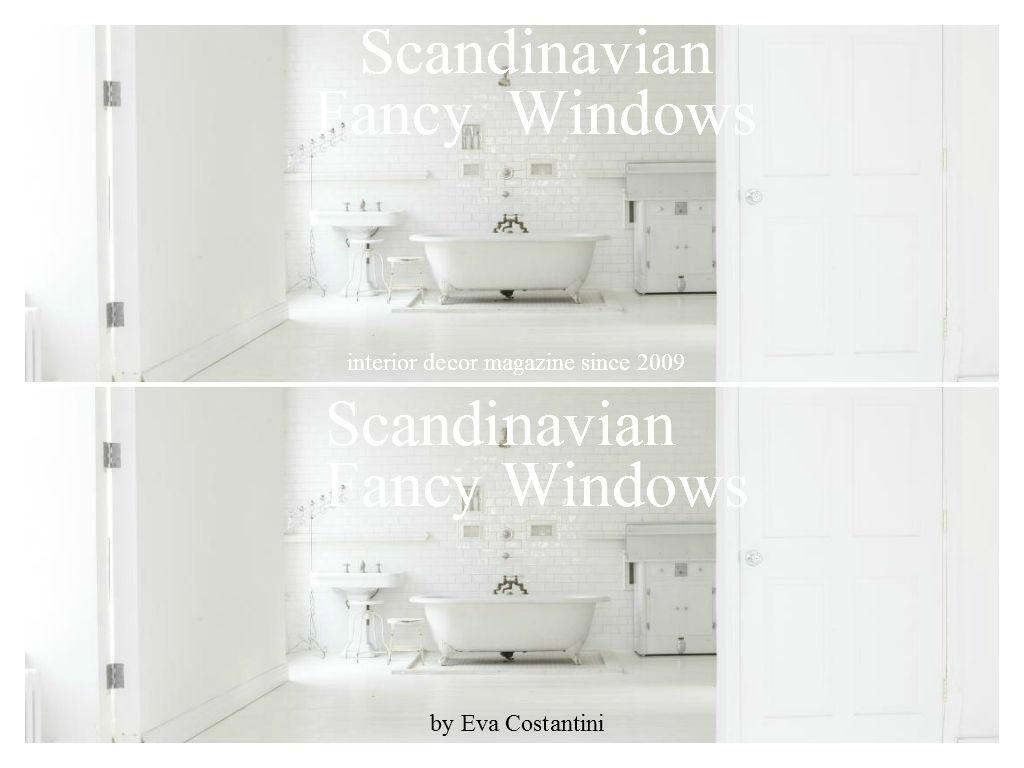 Scandinavian Fancy Windows /Scandinavian Fancy Windows/ Scandinavian Fancy Windows
