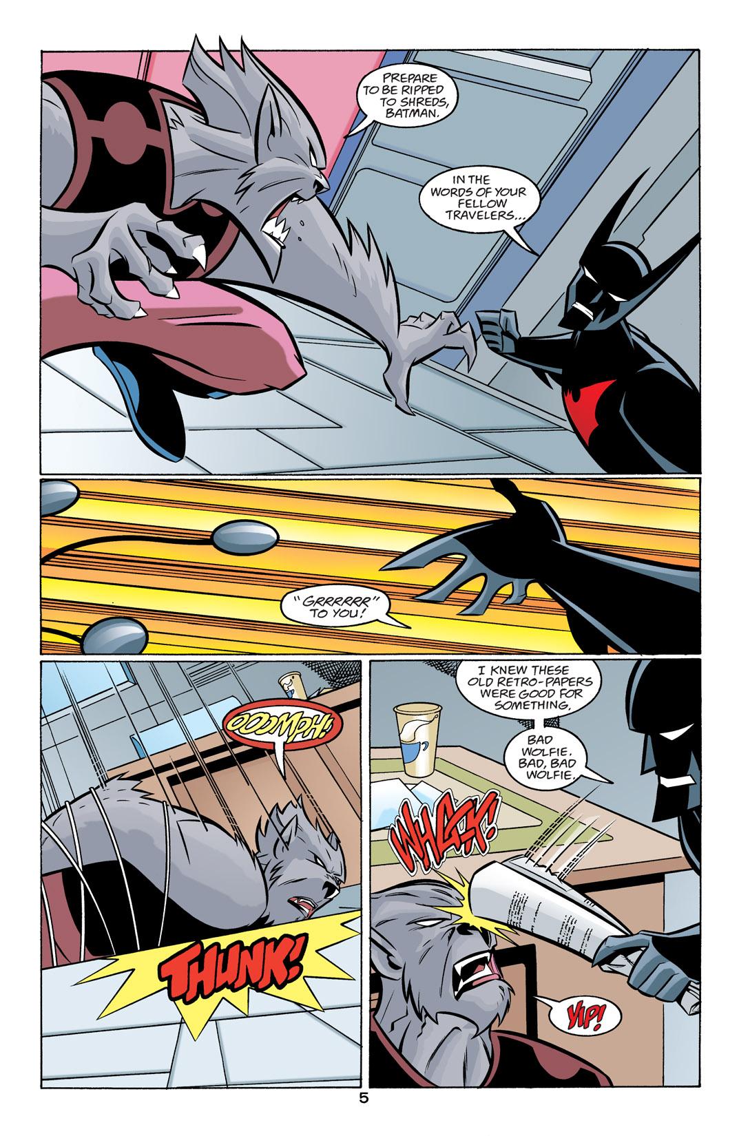Batman Beyond [II] Issue #24 #24 - English 6