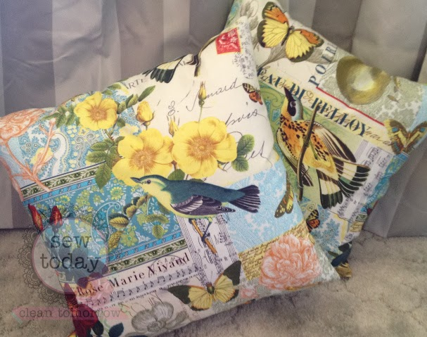 Cushion Cover with Zipper Closure