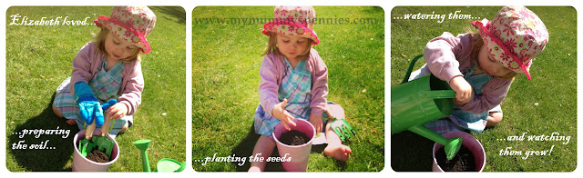 #kidsgrowwild gardening with toddlers