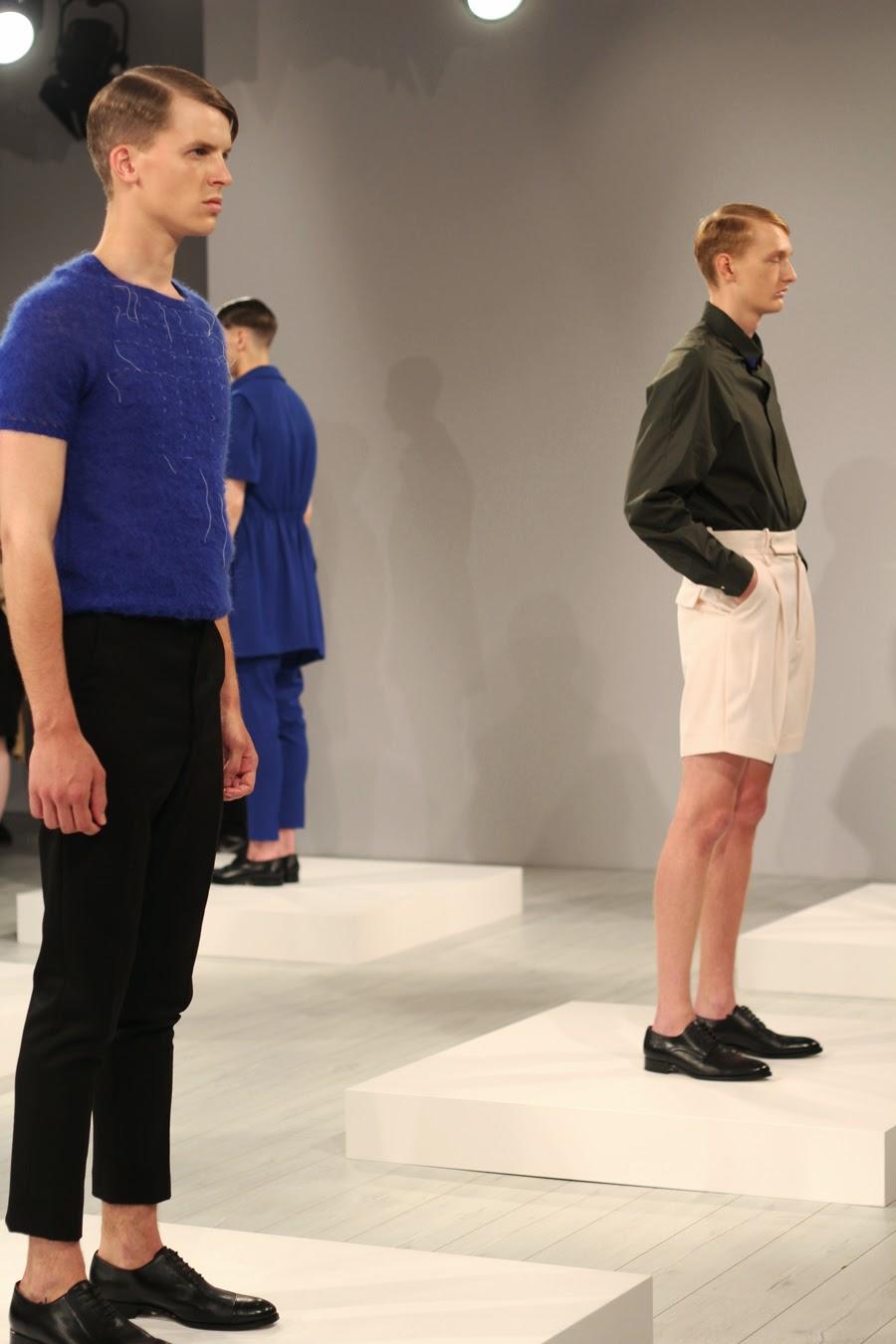 ivan man mercedes benz fashion week models kollektion
