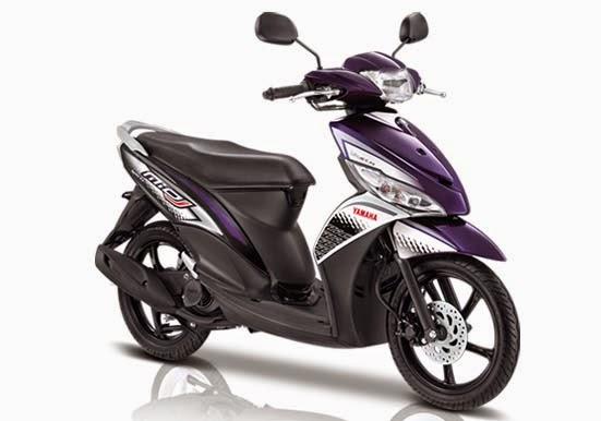 Yamaha Mio J FI Sporty Purple