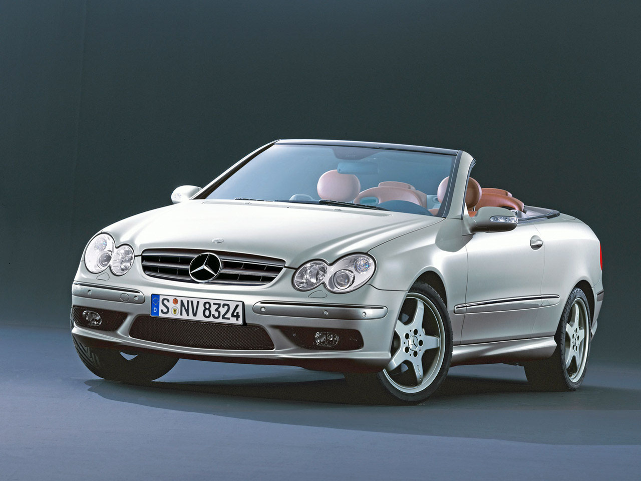 racing cigalo mercedes benz clk 500 cabrio 2005. Black Bedroom Furniture Sets. Home Design Ideas
