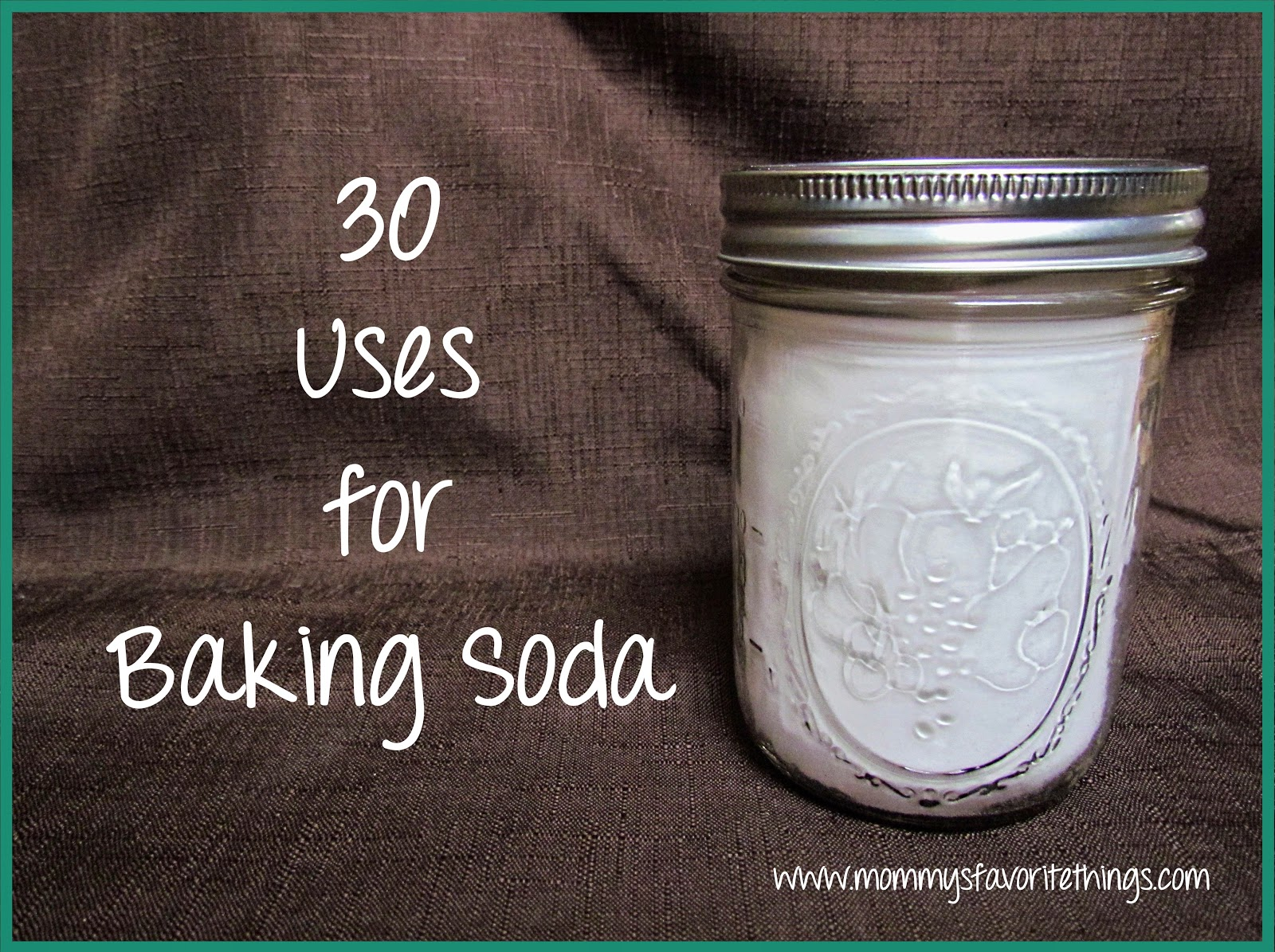 how to clean a garbage can with baking soda