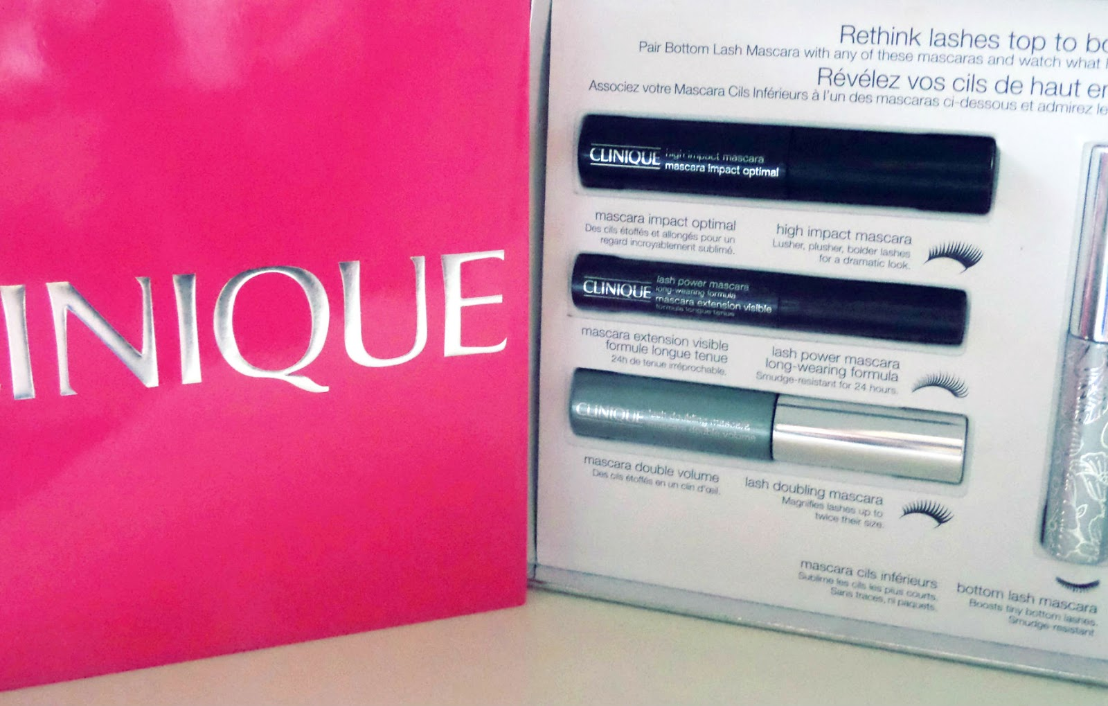 Clinique Lashes Top to Bottom Gift Set Mascaras