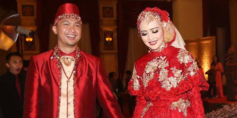 Nuri Maulida dengan Pandu Kusuma Dewangsa Menikah