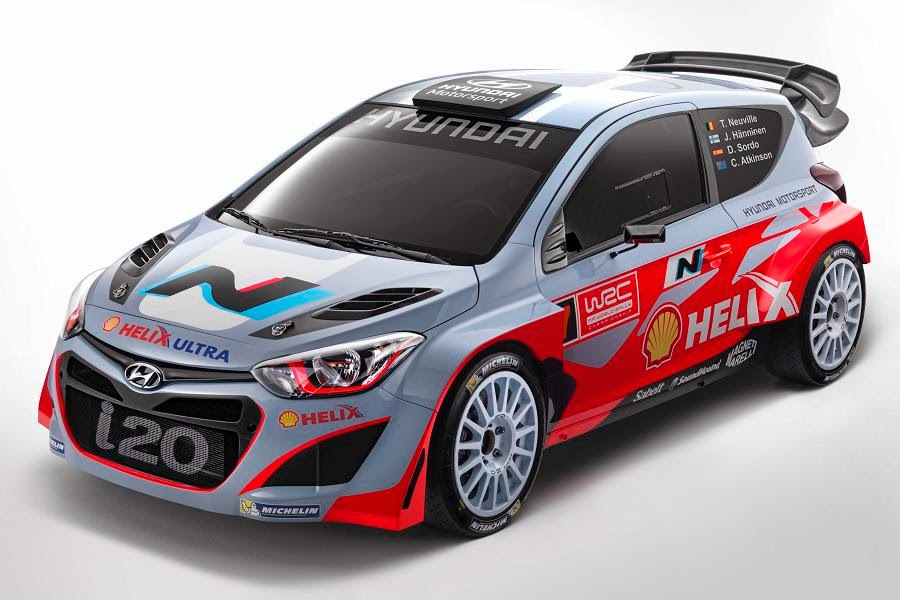 2014 Hyundai i20 WRC revealed - Autoesque
