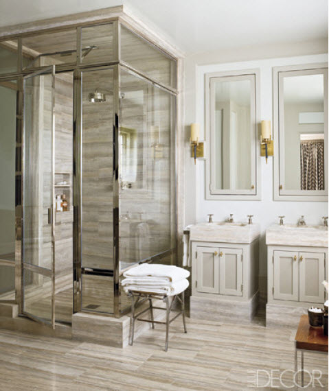 are framed shower doors making a comeback
