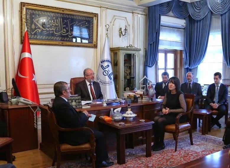 Reunión con el Gran Mufti (Estambul)