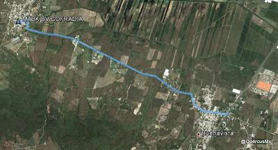 Ruta Ciclismo rural de Buenavista a Cofradía
